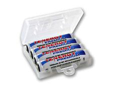 4pcs Tenergy Premium AAA NiMH 1000mAh Rechargeable Batteries + 1 AAA Holder