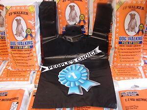 400 Dog Walking E-Z Tie Handles Poop Clean Up Waste Pick Up Bags JP Walker Brand