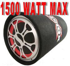 SUBWOOFER AUTO ATTIVO AMPLIFICATO BOOM BOX DA 1500W PMPO BASS REFLEX 25 CM.!!!!!