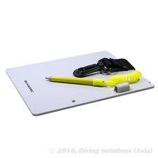 """Scuba Diving Underwater Writing Slate Gear Board w/ Pencil, Size Large 6 x 7.5"""""""