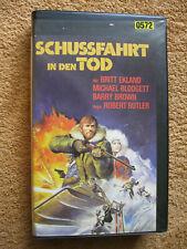 VHS Video Kassette Schussfahrt In Den Tod Britt Ekland Michael Blodgett