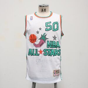 San Antonio Spurs David Robinson All Star Game Jersey Mitchell & Ness Size 48