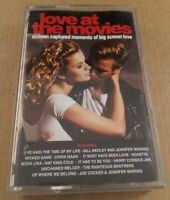 Love At The Movies : Vintage Tape Cassette Album from 1991