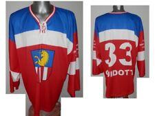 RARE EHC Dubendorf Guidotti #33 Swiss Ice Hockey shirt Eishockey jersey - XL