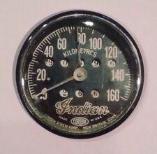 "Indian Motorcycle Speedometer Vintage Style Fridge Magnet 2 1/4"""