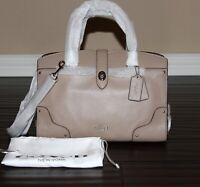 💚NEW COACH Mercer 30 Medium Satchel Leather Bag Carryall Shoulder Purse Handbag