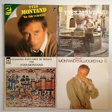 LOT DISQUES 33T SPECIAL YVES MONTAND