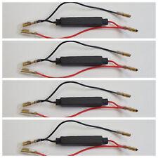 RC10 4 RESISTENZE per FRECCE a LED da 10 WATT 10 Ω per TUTTE le MOTO SHERCO