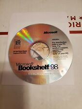 Microsoft Bookshelf 98 Reference Library Cd Rom 1998 Edition