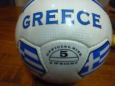 Greece Hellas Soccer Ball With Flags Size 5 Rare & New