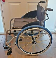 "Tilite Titanium TX ultra lightweight folding manual wheelchair  17"" x 17""  Wide"