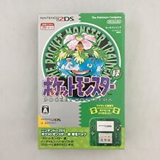 Nintendo 2DS Pokemon Pocket Monster Green Limited Edition Pack Excellent