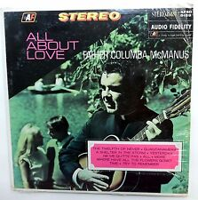 Father COLUMBA McMANUS All about love LP SEALED Audio Fidelity FOLK