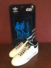 super cute 98496 42859 ADIDAS STAR WARS STORMTROOPER Deadstock Shoes Sneakers Skywalker Jedi US 10
