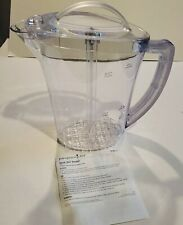 Nib Pampered Chef Quick Stir Pitcher 2 Quart Size Free Shipping