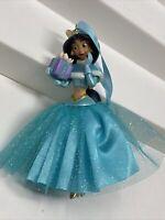 2013 Disney Store Princess JASMINE ALADDIN Sketchbook Christmas Ornament
