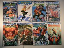 Dc Comics Aquaman Rebirth Special 1 1 Variant 2 3 4 5 6 7 7 Variant 8 9 Variant