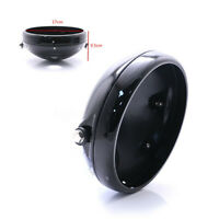 🔥 Aluminum Motorcycle 7'' Headlight Housing Headlamp Light Cover Shell  r z