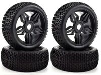 Apex RC Products 1/8 Off-Road Buggy Diamond Wheels / Nub Tires #6035 -2 Pack