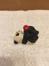 UDC stamped Panda Bear With Apple/Ball Stone Figuring