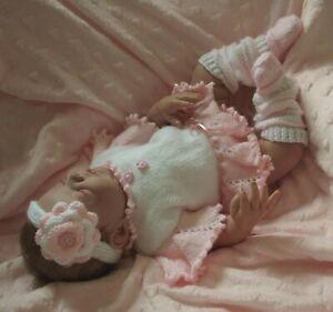A5 PAPER KNITTING PATTERN * Tatiana * Baby/Reborn 0-3 Months