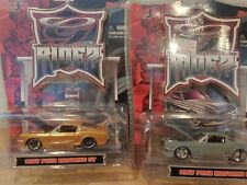MAISTO RIDEZ 67 FORD MUSTANG GT URBAN DIECAST COLLECTION LOT OF 2