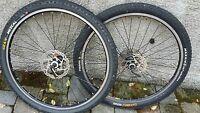 "ruote MTB Mavic XM317 mozzi Shimano SLX copertone geax mezcal crossmark 26"""