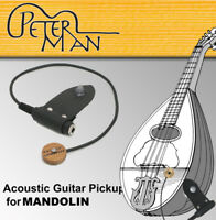 Peterman EXTERNAL - acoustic mandolin pickup