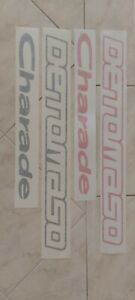 Charade Detomaso Side Decals