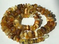 Natural Vintage Amber Beads Antique Baltic Old Necklace 49,37 gr.
