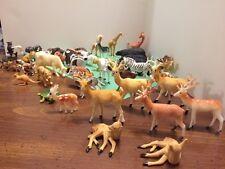 50 Plastic Toy Animals