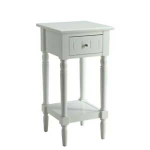 Convenience Concepts French Country Khloe Accent Table, White - 6052201W