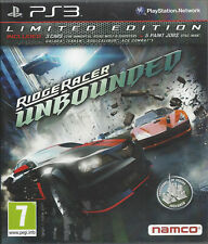 RIDGE RACER UNBOUNDED for Playstation 3 PS3 - with box & manual