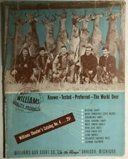 WILLIAMS GUN SIGHT COMPANY 60-page illustrated hunting catalog (circa 1952)