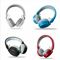 Bluetooth Headphones Wireless Sport Foldable Headsets W/ MIC For Samsung iPhone