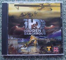 PS1 GAME. Hidden & Dangerous. CD in case.