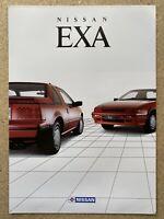 1990 Nissan Exa original Australian sales brochure (1)
