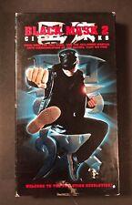 Black Mask 2: City of Masks (VHS, 2002) Andy On, Teresa Herrera - Martial Arts