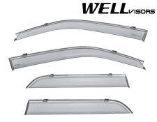 WellVisors Side Vents Window Visors Sun Sleet Deflectors For 08-12 Ford Escape
