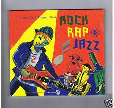 CD+LIVRE ROCK RAP JAZZ BASHUNG & R. BURGER(rock) ANT'ONE(RAP)H.TEXIER(JAZZ)