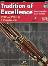 Tradition of Excellence Bassoon Book 1 (W61Bn)