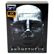 PROMETHEUS 4K UHD BLU-RAY STEELBOOK 3D EMBOSSED FULLSLIP FILMARENA NEW & SEALED