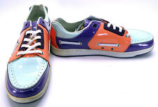 Creative Recreation Shoes Lucky Luciano White/Blue/Orange Sneakers Size 8