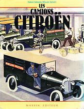 livre automobile: F. Sabates - W. Jansen: les camions Citroën. massin incomplet
