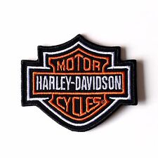 HARLEY Davidson Patch ricamate Bar & Shield 8,2 x 7 cm