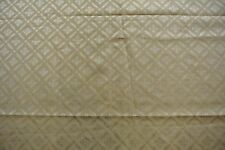 1 metre Wemyss Gold Trellis Cotton Damask - RRP £42 per metre
