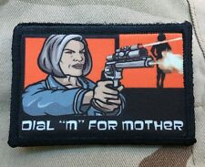 Mallory Archer Morale Patch Tactical Military Army Funny Hook Flag USA Funny