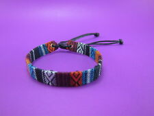 New Thai Hmong Woven fabric Friendship Bracelet handicraft hippie hobo 1 pcs
