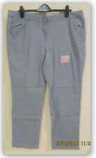 White Stag Comfort Fit Pants Grey Flannel 18 Average Straight Leg NWT