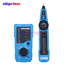 Network Telephone Cable Tester Wire Tracker Line Finder Tracer LAN for RJ45 RJ11